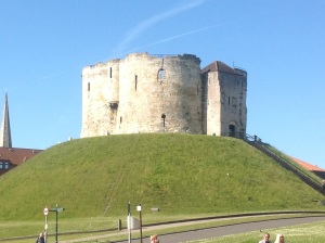 Cliffords Tower built in 1216-1272 by King Henry III