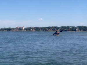 kayaking Lake Arlington