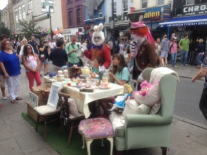 Tea Party in the street